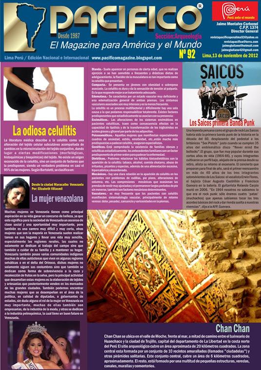 Revista Pacífico Nº 92 Arqueología