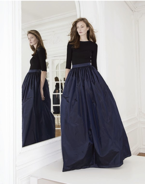 Martin grant F/W2014 long full skirt