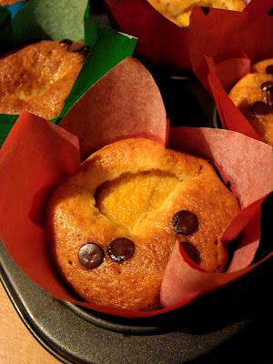 łatwe muffinki z brzoskwinią