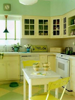 Yellow Kitchen Cabinets Ideas