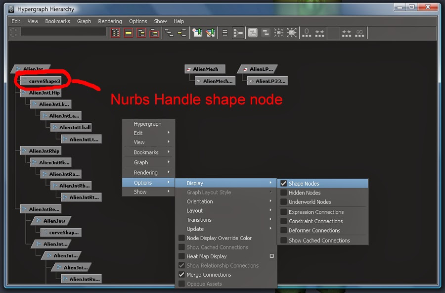 How to make shape nodes visible in the hypergraph