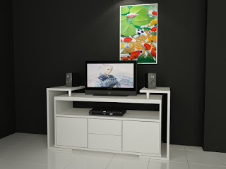 meja tv minimalis malang
