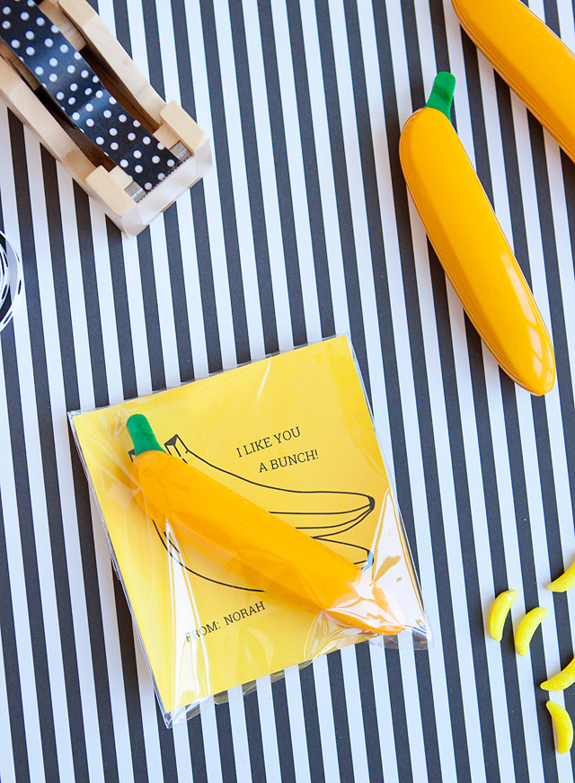 Armelle Blog Banana Valentines Free Valentines Free Printable Non-candy Valentines