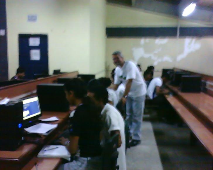 Aula no Lab.de Informática