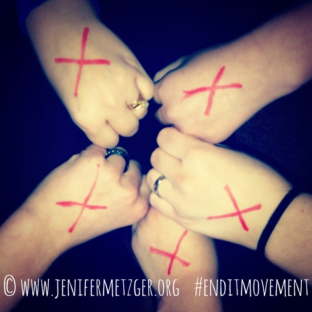 #enditmovement We are In It To End It #humantrafficking #slavery