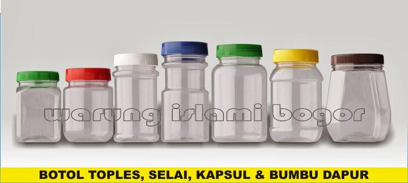 Jual Aneka Kemasan Botol Toples Plastik