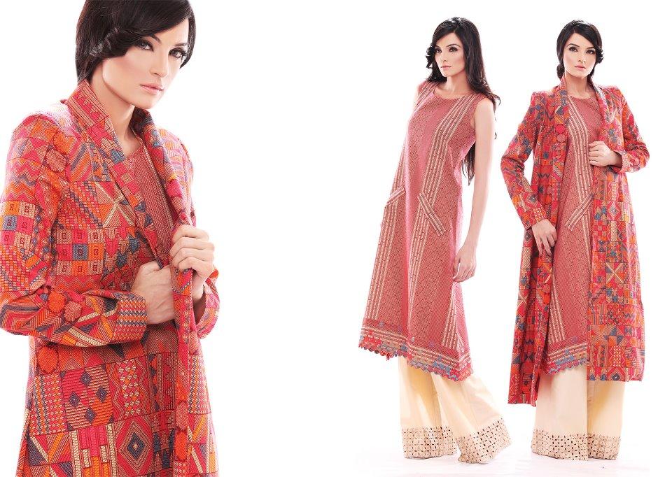 Sadia lawn dresses 2012