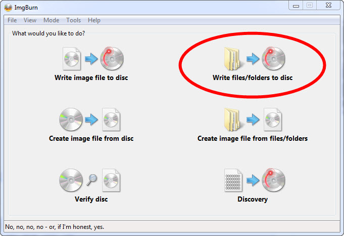 write-files-folders-to-disk