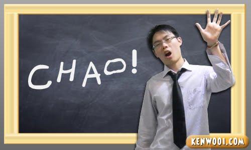 blackboard chao