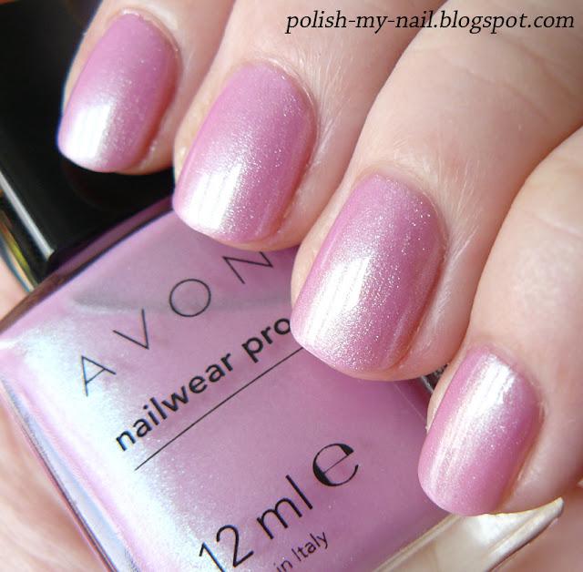 Avon Pink Nail Polish: Polish My Nail: Avon