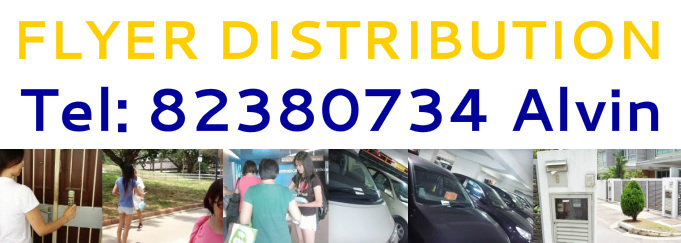 FLYER DISTRIBUTION in Singapore, Asia Country