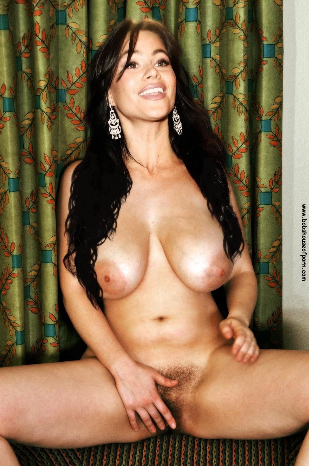 big Sofia naked vergara boobs