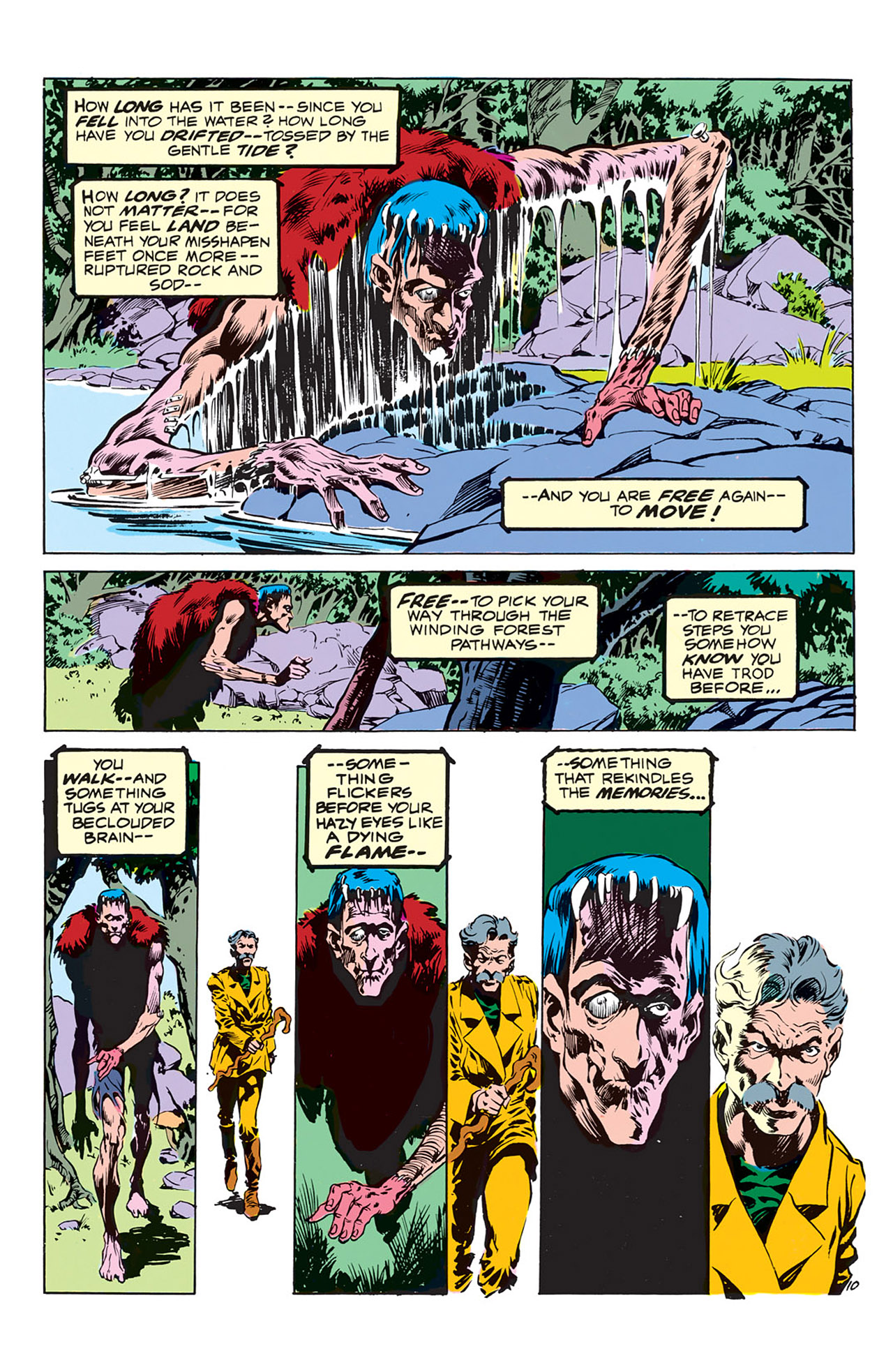 Swamp Thing (1972) Issue #3 #3 - English 11