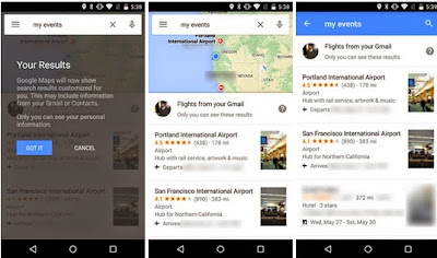 Google Maps App v9.8.1 Brings New Search Shortcut For Easy Access To Reservations, Flights, And Hotel Bookings [Download Here]