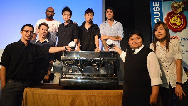 Participants of the 4th Malaysia Barista Championship 2013 (MBC)