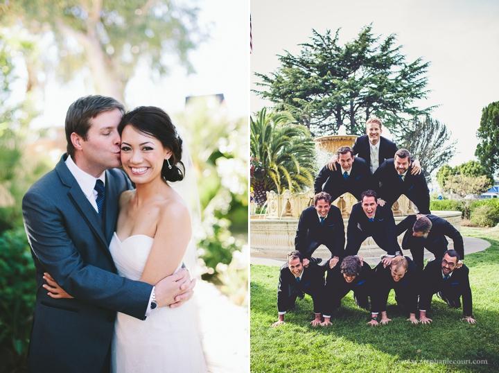 """joyful fun wedding party photos"""
