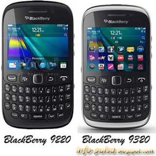 BlackBerry 9220 dan BB 9320