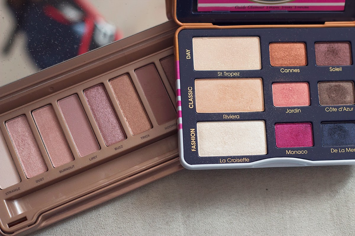 travel friendly palettes