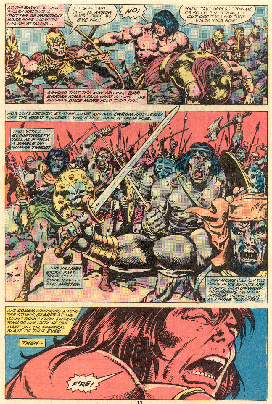 Conan the Barbarian (1970) Issue #81 #93 - English 7