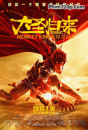Monkey King: Hero Is Back 2015 poster
