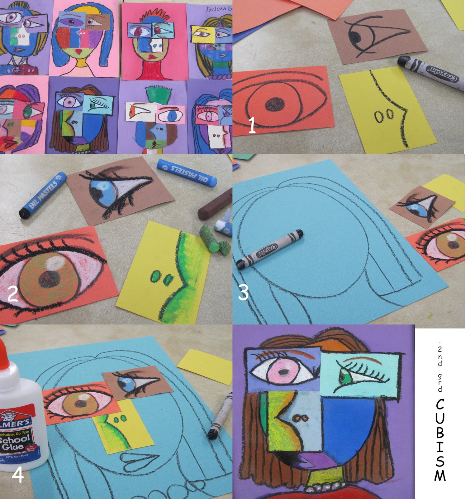 The Inventive Educator: Picasso Portraits for Kids