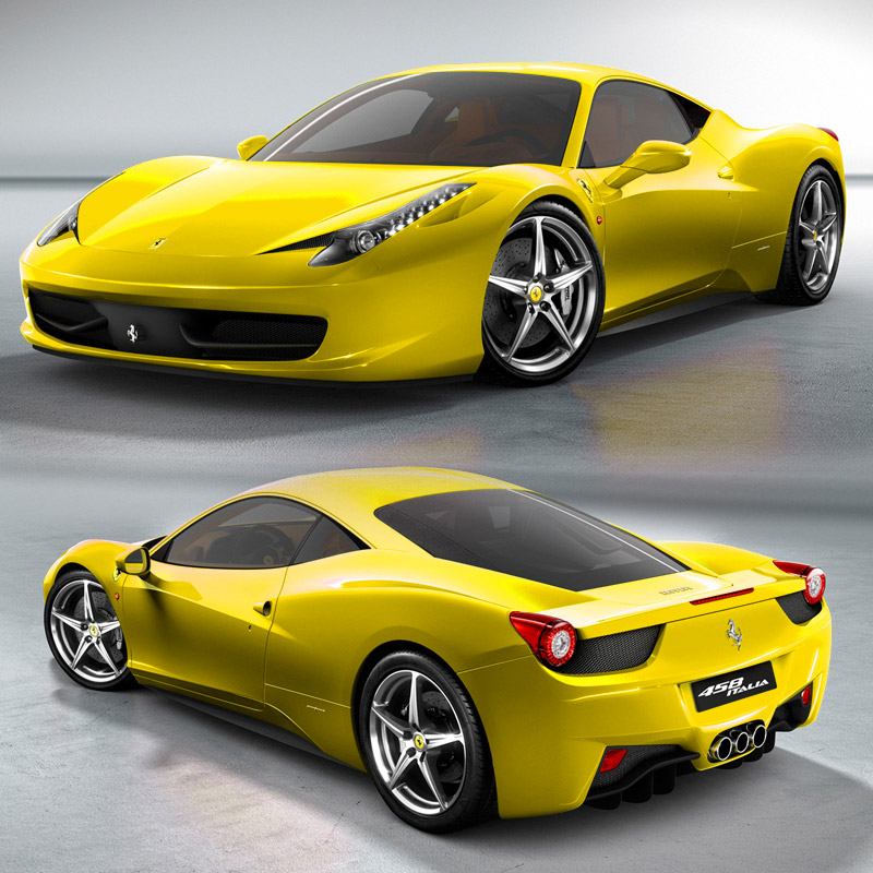 Sưu Tập Ảnh Siêu Xe Ferrari 548