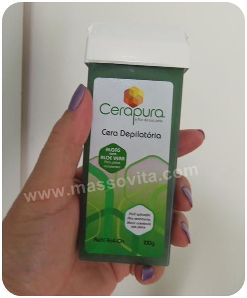 Cera Depilatória Algas com Aloe Vera