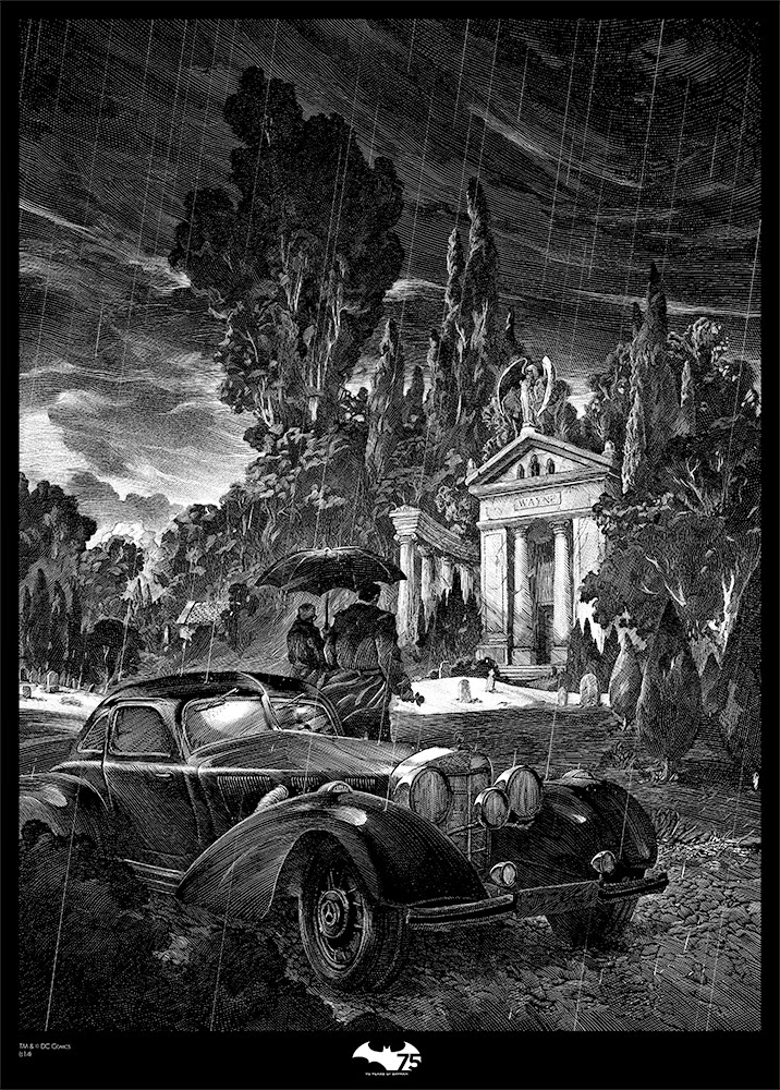 10-Thomas and Martha Wayne-Nico-Delort-Illustrations-with-Scratchboard-Drawings-www-designstack-co