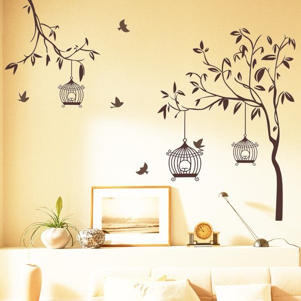 stiker dinding percantik ruangan - kontraktor murah jogja