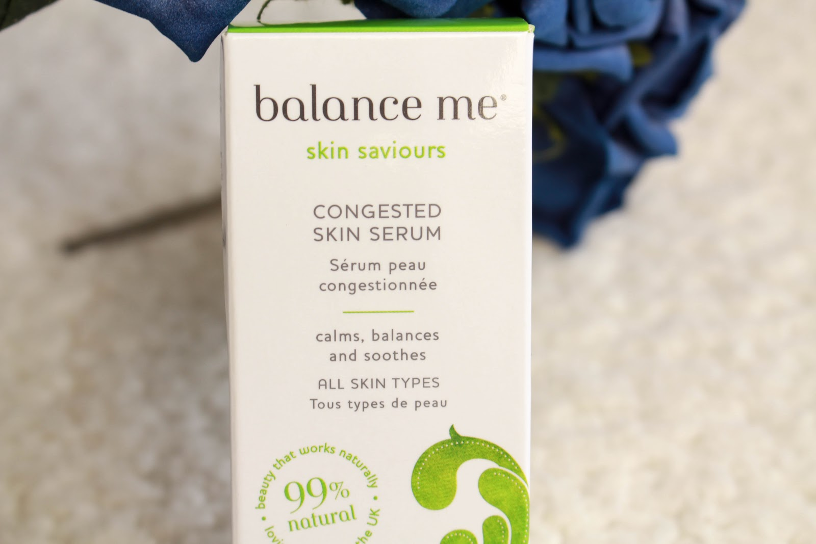 congested skin serum, natural, organic skincare, beauty blogger, balance me,