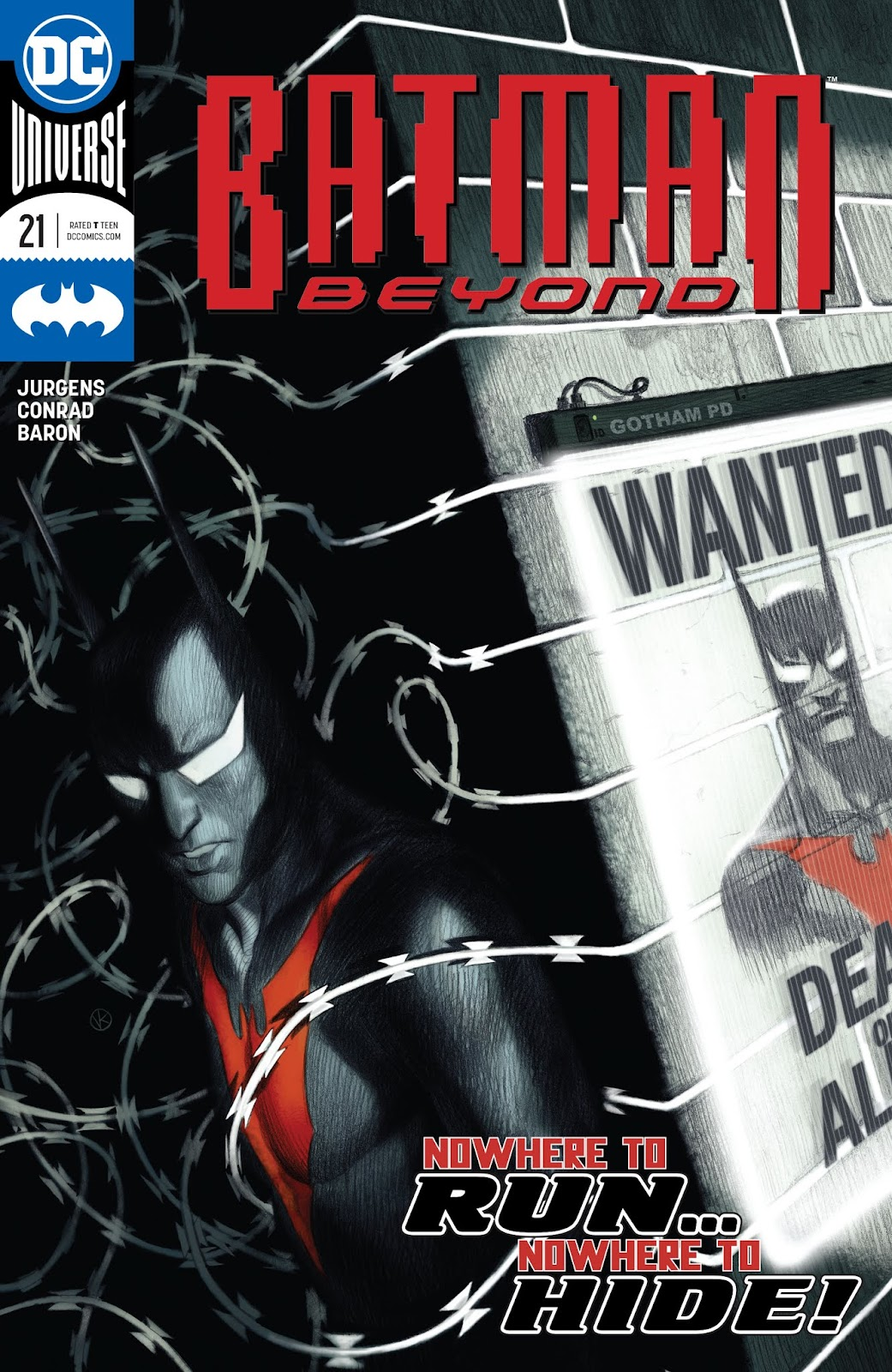 Batman Beyond (2016) issue 21 - Page 1