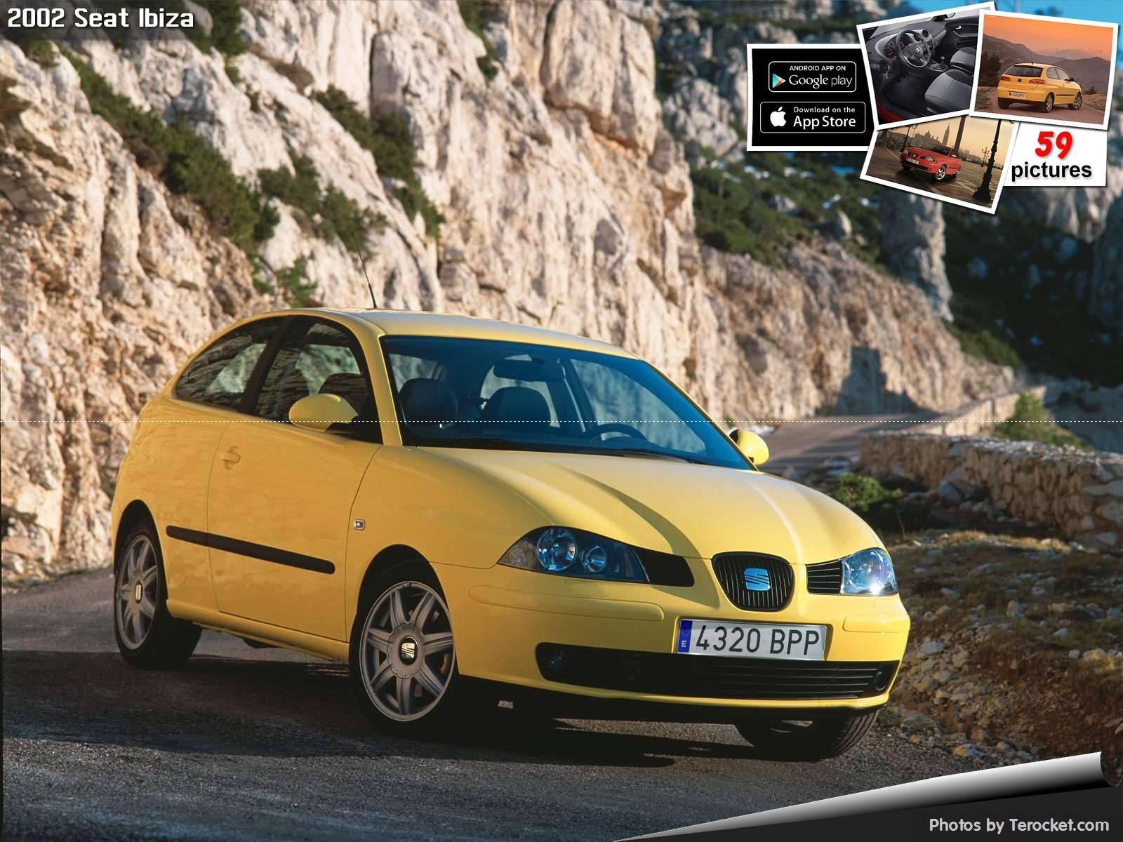 Hình ảnh xe ô tô Seat Ibiza 2002 & nội ngoại thất
