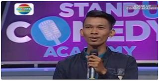 Cemen Cikarang Juara Satu Stand Up Comedy Academy Indosiar 2015