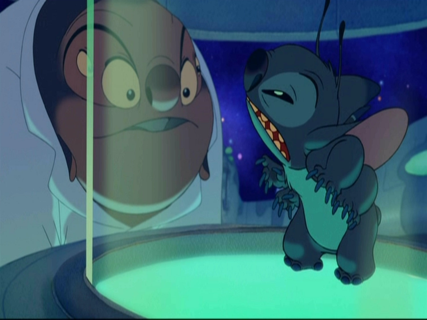 what is the relationship between stitch and kelly on