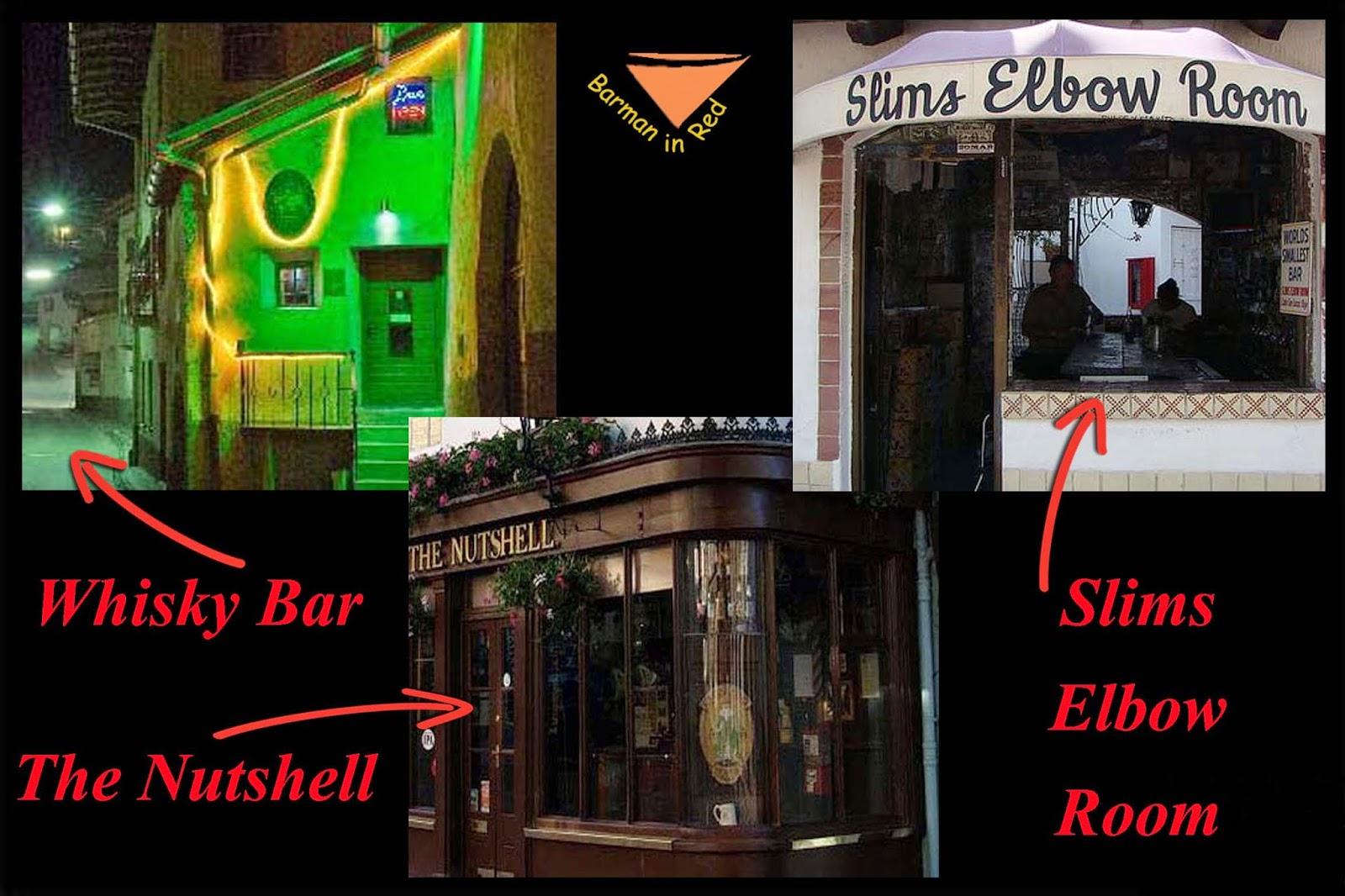 10 bares mas pequeños