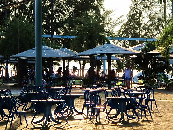 Seating area at Pattaya Watewr Park