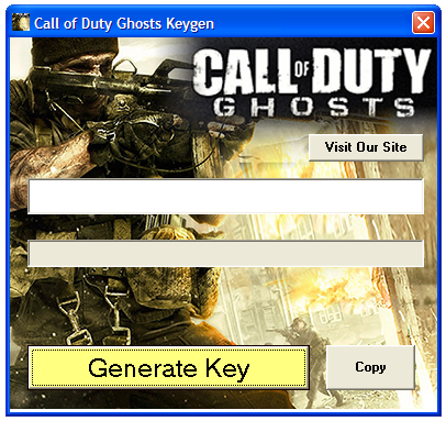 Call of Duty Ghosts Keygen