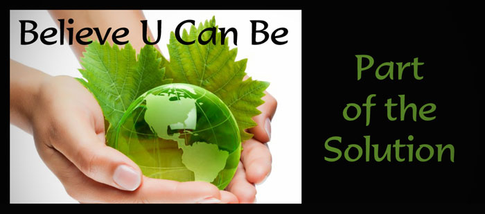 Total Wellness - Going Green by Danna Cruzan-BelieveUCanBe