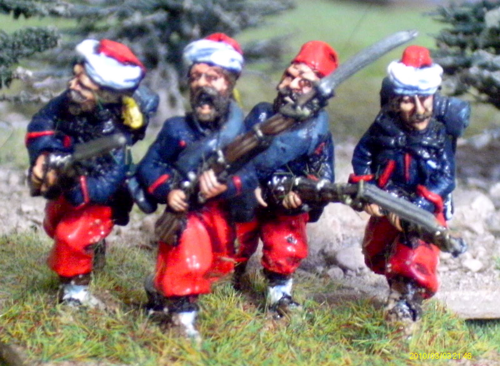 lonely gamers old glory miniatures 28mm zouaves. Black Bedroom Furniture Sets. Home Design Ideas