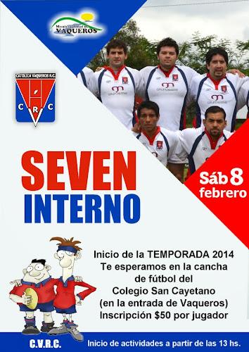 Seven interno de Católica Vaqueros Rugby Club
