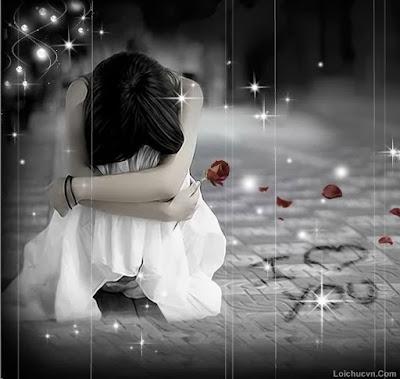 Ảnh đẹp về tình yêu buồn khi chia tay