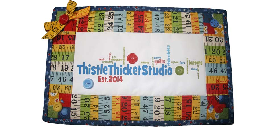 Quilting With Thistle Thicket Studio