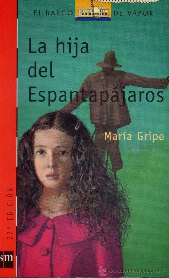 """Portada del libro """"La hija del espantapájaros"""", de María Gripe"""