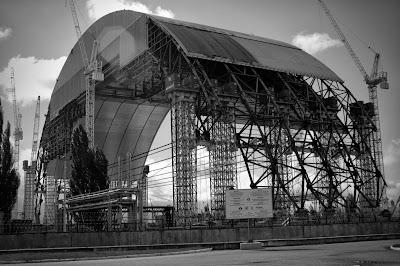 nowy sarkofag na reaktor w Czarnobylu - Arka.