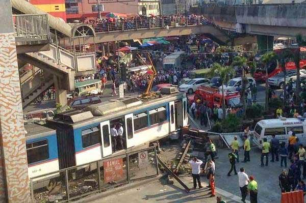 MRT Crash Pasay