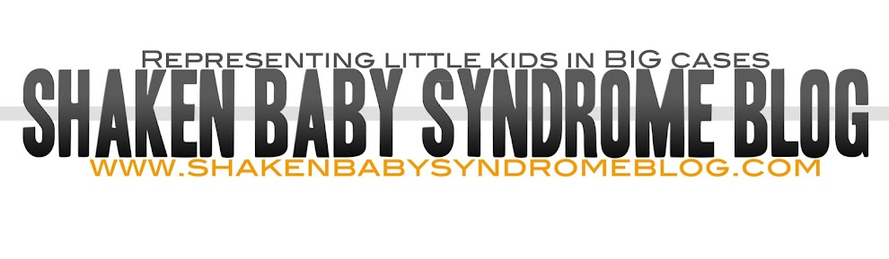 Shaken Baby Syndrome Blog