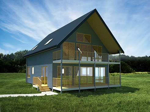 Prefab homes and modular homes in australia tasmanian kit for Tasmanian home designs