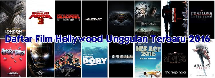 Film Hollywood Unggulan Terbaru 2016