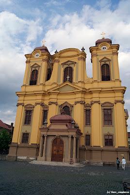 Timisoara Piata Unirii Temeschwar Temesvár