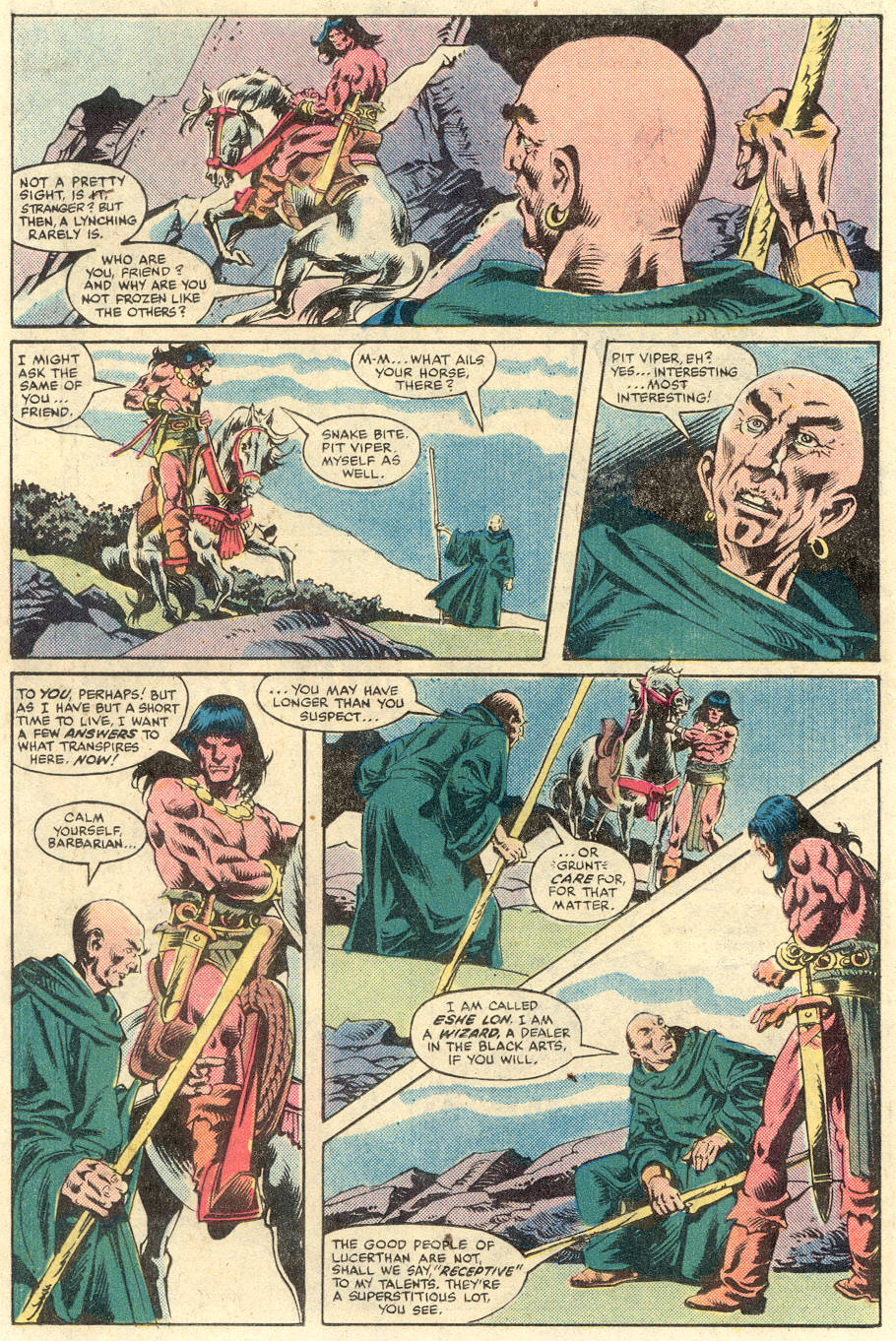 Conan the Barbarian (1970) Issue #134 #146 - English 12